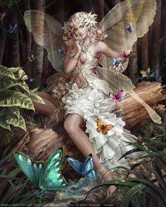 Beautiful Fantasy Art, Beautiful Fairies, Beautiful Things, Mobius Final Fantasy, Cute Animal Quotes, Unicorn And Fairies, Greek Mythology Art, Comic Art Girls, Different Kinds Of Art