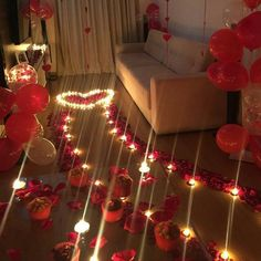 Surpresa lindíssima para a @rafa_buenofs do seu namorado super romântico @ygorfontana! ❤❤❤ #amordemais #surpresalinda #s...