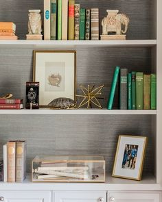 Study  Home Office  Vignette  American  Eclectic  Transitional by Tiffany…