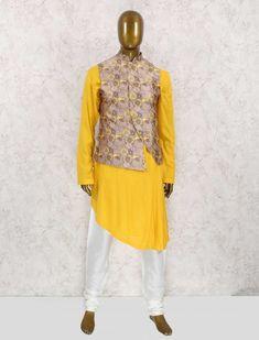 men kurta designs style wedding 2019 ~ m Mens Indian Wear, Indian Men Fashion, Unique Fashion, Mens Fashion, Fashion Design, Style Fashion, Kurta Pajama Men, Kurta Men, Mens Sherwani