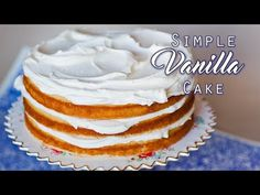 Basic Vanilla Buttercream Recipe - Tatyanas Everyday Food