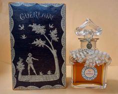 Vintage FOL Arome by Guerlain Baccarat Crystal SEALED Perfume Bottle   eBay