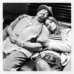 Jennifer Carpenter and David Zayas