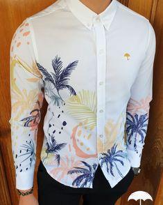 Casual Shirts For Men, Men Casual, Mens Shirt Pattern, Camisa Floral, Camisa Slim, Men Design, Fashion Books, Men Looks, Mens Clothing Styles