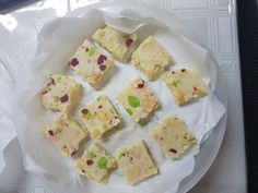The Quickest, Smoothest Burfee Ever recipe by Indira Maharaj posted on 21 Oct 2017 . Recipe has a rating of by 1 members and the recipe belongs in the Desserts, Sweet Meats recipes category Eid Biscuit Recipes, Eid Biscuits, Sweet Meat Recipe, Diwali Food, Clarified Butter Ghee, Cook Up A Storm, Ramadan Recipes, Indian Sweets, Food Categories