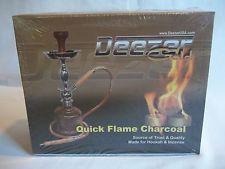 "NEW ! Deezer ""GOLD"" Quick Flame Hookah Charcoal  ""Natural Oakwood""  33mm 100 pcs Hookahs, Charcoal, My Love, Gold, Ebay, Hookah Pipes, Yellow"