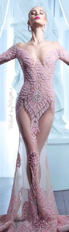 Regilla ⚜ Nicolas Jebran Haute Couture Summer 2015