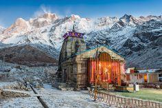 #DidYouKnow ?   The original Kedarnath Temple was built by the Pandavas, who came here in search of Lord Shiva as they wanted to repent their deeds after The Mahabharata.  Book Do Dham (Badrinath & Kedarnath) Yatra by Helicopter. Call - +91 95 999 48 464 or visit : www.gochoppers.com