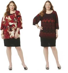 Covington Womens Plus Tunic Dress Printed Stretch size 2X 3X NEW  19.99 http://www.ebay.com/itm/Covington-Womens-Plus-Tunic-Dress-Printed-Stretch-size-2X-3X-NEW-/232388912612?ssPageName=STRK:MESE:IT
