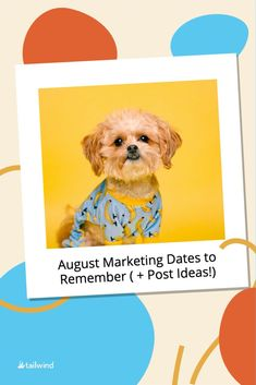 August Marketing Dates to Remember ( + Post Ideas!) Content Marketing Strategy, Social Media Marketing, Digital Marketing, Important Days In August, International Beer Day, World Icon, Bonding Activities, Social Media Trends, Social Business
