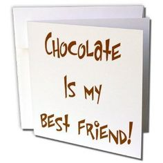♔  CHOCOLATE IS MY BEST FRIEND  #CHOCOLATEISTHECURE