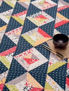 The Mall quilt from Strip-Smart Quilts II by Kathy Brown