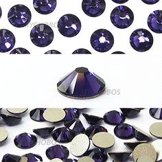 PURPLE VELVET 277 violet Swarovski NEW 2088 XIRIUS Rose 20ss 5mm flatback NoHotfix rhinestones ss20 1440 pcs 10 gross  Original Sealed Factory Pack FREE Shipping from Mychobos CrystalWholesale >>> Learn more by visiting the image link.