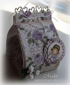 Magnolias by Malin: mars 2011 Suitcase, Lunch Box, Scrapbook, Magnolias, Envelopes, Mars, Crafts, Craft Ideas, Design