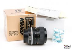 Nikon 35-70mm f/3.3-4.5 Ai-S Nikkor zoom lens Boxed Collectors condition 2267919