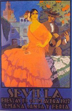 affiche feria 1927