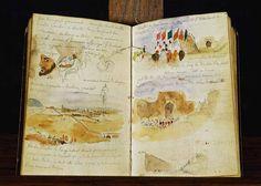 Eugene Delacroix's sketchbook