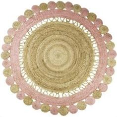 Jute Round Rug Colorful Area Accent Circle Dari Carpet,Braided Bohemian Trible Traditional Indian – Rug making Rustic Baby Rooms, Indian Rugs, Rustic Rugs, Braided Rugs, Jute Rug, Pink Rug, Round Rugs, Rug Making, United Kingdom