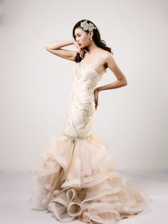 Jamie Go Wedding Gown Bridal wear 2014 Bridal Gowns, Wedding Gowns, Bridal Collection, Formal Dresses, How To Wear, Fashion, Bride Dresses, Homecoming Dresses Straps, Dresses For Formal