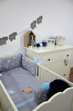 Kolekcja Misie/pościel dziecięca i ochraniacz do łóżeczka