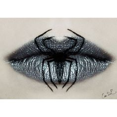 Beautifully Creepy Halloween Lip Makeup Ideas By Eva Pernas ❤ liked on Polyvore featuring makeup, lips, halloween, backgrounds и beauty