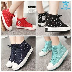 รองเท้าผ้าใบ แฟชั่นเกาหลี ทรงสูง ตกแต่งลายโบว์น่ารัก สั่งซื้อ รหัสสินค้า TS0109 http://www.sabuy-shopping.com