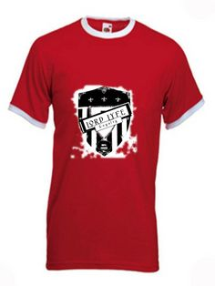 Lord Lyfe Co. Loyalty Brand Ringer Tee ~   Red/White      ***       Find it Now @  www.LordLyfe.com