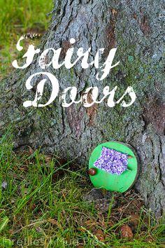 Children 39 s art on pinterest process art happy hooligans for Make fairy door craft