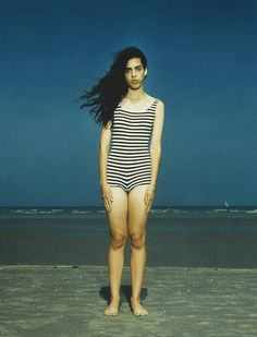 De Panne, Belgium, August 7 1992 1992 by Rineke Dijkstra born 1959