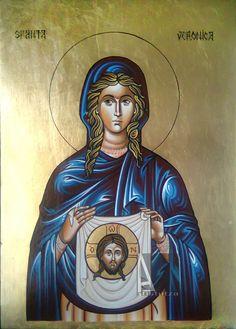 St. Veronica St Veronica, Orthodox Icons, Saints, Princess Zelda, Wonder Woman, Superhero, Female, Fictional Characters, Women