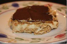Easy Peanut Butter Eclair Dessert
