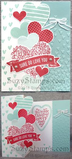 DOstamperSTARS Thursday Challenge #265: Heart Happiness Hugs Card ...