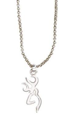 Browning® Buckmark Pendant Necklace | Bass Pro Shops
