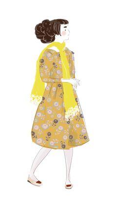 Laura Gómez, ilustración. #illustration #minaperhonen