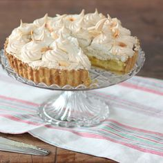 "For a perfect lime and coconut meringue pie, you need ""just the right amount of lime"" like in this recipe from The Great British Bake Off."