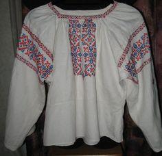 Винтажная женская рубашка. Ручная вышивка. 1980 от VIRTTARHAR