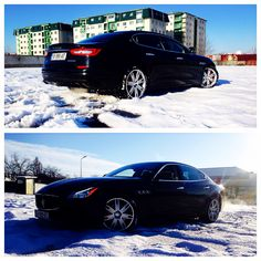 Maserati Quattroporte S Q4 Wintermode