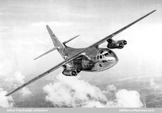 Chase XC-123A: An early version of the C-123 Provider, but with jet engines instead of props : WeirdWings
