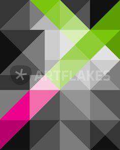 """""""Abstract geometric"""" Digital Art von edrawings38 jetzt als Poster, Kunstdruck oder Grußkarte kaufen.."""