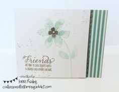 Garden in Bloom Card :: Confessions of a Stamping Addict Lorri Heiling Garden in Bloom Stampin Up