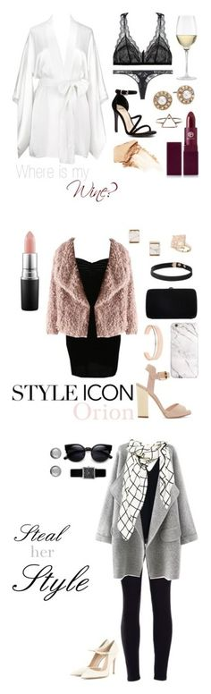 """Steal her Style -- Orion Carloto"" by ardentmoans ❤ liked on Polyvore featuring Oneida, Eberjey, Kiki de Montparnasse, Oscar de la Renta, Lipstick Queen, Mollini, NARS Cosmetics, bedroom, women's clothing and women"