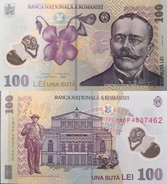 Romania 100 Lei 2018 Baseball Cards, Movie Posters, Design, Art, World Coins, Money, Romania, Art Background, Film Poster
