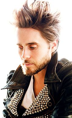 Jared Leto. oh my god.