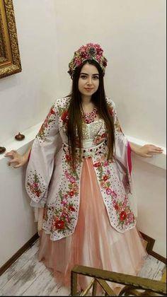 Dikiş evi kına kaftan gece elbisesi