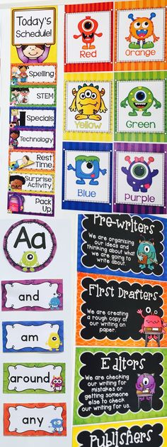 Decorate your classroom this year with this comprehensive classroom decor set. Tweet Resources has created a MONSTER-ous 800 page classroom decor package, that includes a multitude of editable options. Please check out the preview to see all the wonderful inclusions in this package!