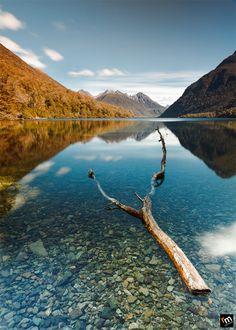 Lake Gunn, Milford Sound, New Zealand