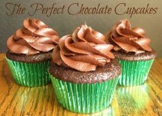 Cupcakes and the best recipe