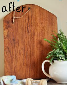 How-to refinish a wooden cutting board