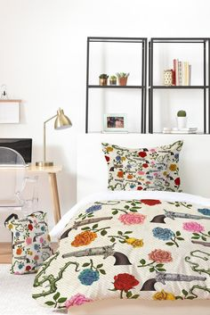 Belle13 Sweet Guns And Roses Bed In A Bag | DENY Designs Home Accessories