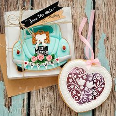 Galletas para una boda Boho-Chic | Little Wonderland